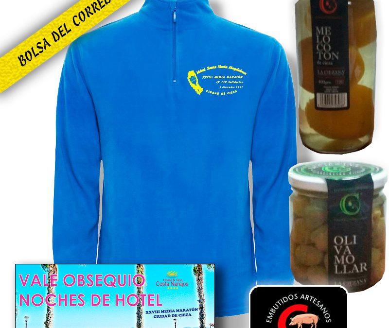 Bolsa del corredor XXVIII Media Maratón 2017